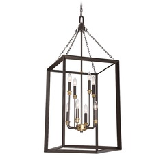 Quoizel Lighting Brook Hall Western Bronze Pendant Light