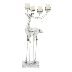UMA Enterprises Decorative Reindeer Holiday Candle Holder 55171