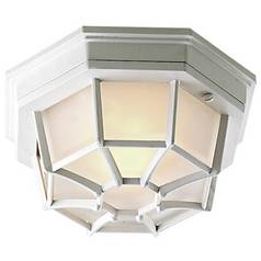 Flushmount Outdoor Ceiling Light