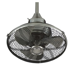 Fanimation Fans Extra Pewter Ceiling Fan Without Light