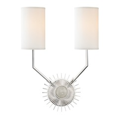 Hudson Valley Lighting Borland Polished Nickel Sconce