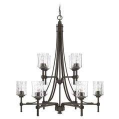 Capital Lighting Porter Renaissance Brown Chandelier