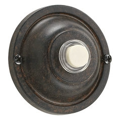 Quorum Lighting Toasted Sienna Doorbell Button