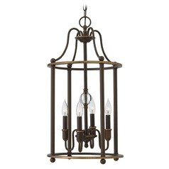 Hinkley Lighting Elaine Light Oiled Bronze Chandelier