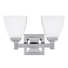 Feiss Lighting Putnam Chrome Bathroom Light