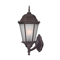 Design Trends Lighting Colonial Coach Outdoor Wall Light - 20-1/4-Inches Tall 18006-342
