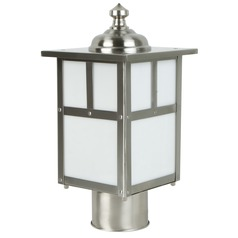 Craftmade Lighting Mission Stainless Steel Post Light