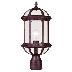 Savoy House Rustic Bronze Post Light
