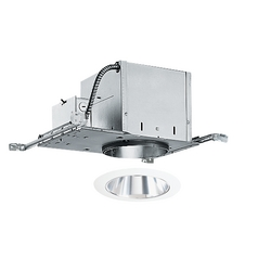 6-inch Recessed Lighting Kit with Clear Alzak Trim