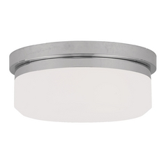 Livex Lighting Isis Chrome Flushmount Light