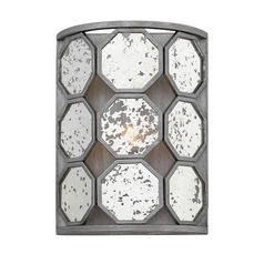 Art Deco Sconce Silver Lara by Hinkley Lighting