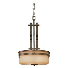 Three-Light Pendant with Omni Glass