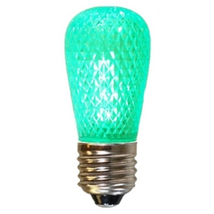 American Lighting Green Color S14 LED Light Bulb - 10-Watt Equivalent