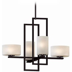 Lite Source Adalyn Dark Bronze Chandelier