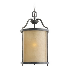 Nautical Hanging Lantern Pendant Light in Bronze Finish