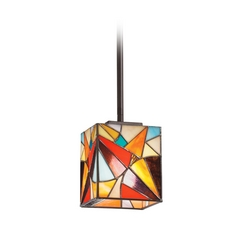 Kichler Lighting Kichler Mini-Pendant Light with Multi-Color Glass 65371
