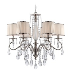 Lite Source Valentine Chrome Chandelier