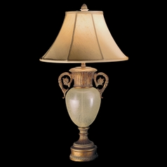 Fine Art Lamps Verona Antique Veronese Gold Table Lamp with Bell Shade