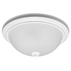Sea Gull Lighting Ceiling Flush Mount White Flushmount Light