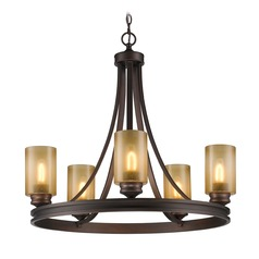 Golden Lighting Hidalgo Sovereign Bronze Chandelier