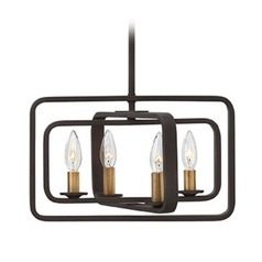 Hinkley Lighting Quentin Buckeye Bronze Pendant Light