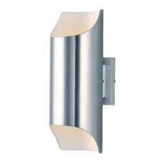 Maxim Lighting Lightray LED Brushed Aluminum LED Outdoor Wall Light