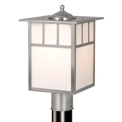 Mission Stainless Steel Post Light by Vaxcel Lighting
