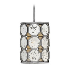 Art Deco Pendant Light Silver Lara by Hinkley Lighting