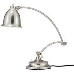 LED Desk Lamp in Satin Steel Finish