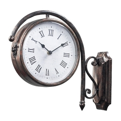 Sterling Lighting Clock in Bronze Finish 125-035