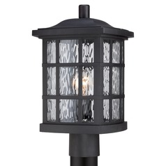 Quoizel Stonington Mystic Black Post Light