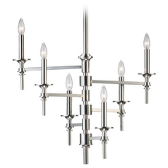 Cyan Design Omega Polished Nickel Chandelier