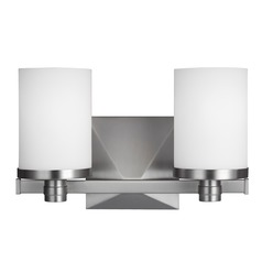 Feiss Lighting Randolf Satin Nickel Bathroom Light