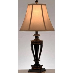 Lite Source Burton Dark Bronze Table Lamp Set
