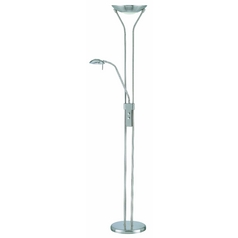 Lite Source Lighting Duality Torchiere Lamp LSF-9984PS