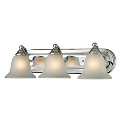 Cornerstone Lighting Shelburne Chrome Bathroom Light