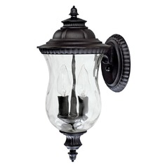 Capital Lighting Ashford Black Outdoor Wall Light