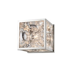 Hudson Valley Lighting Fisher Polished Nickel Sconce