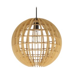 Craftmade Lighting Espresso Mini-Pendant Light with Globe Shade
