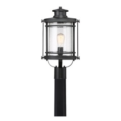 Quoizel Lighting Booker Mystic Black Post Light