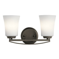 Transitional Bathroom Light Olde Bronze Tao by Kichler Lighting