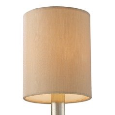Beige Cylindrical Lamp Shade