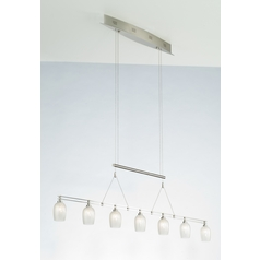 Holtkoetter Modern Low Voltage Pendant Light in Satin Nickel Finish