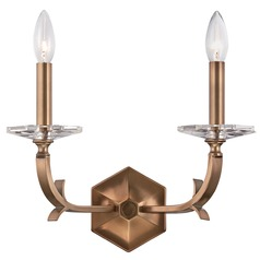 Crystorama Lighting Hugo Pewter Sconce