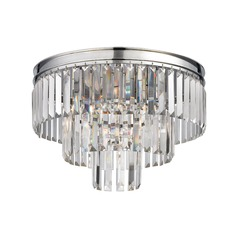 Elk Lighting Palacial Polished Chrome Semi-Flushmount Light