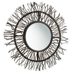 Branch Round 38-Inch Mirror