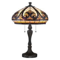 Quoizel Lighting Tiffany Vintage Bronze Table Lamp