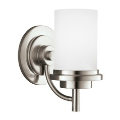 Sea Gull Lighting Winnetka Brushed Nickel LED Sconce