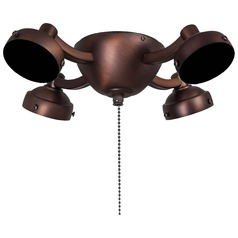 Minka Aire Fans Dark Brushed Bronze Fan Light Kit