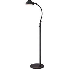 Quoizel Thompson Imperial Bronze LED Swing Arm Lamp
